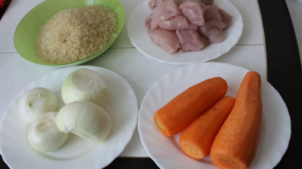 Как варить плов с курицей на плите, рецепт с фото