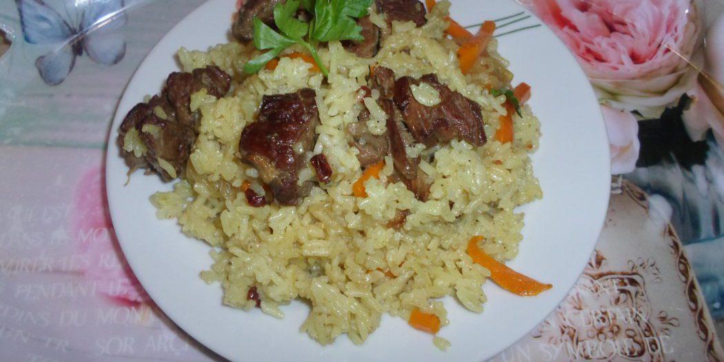 Плов из говядины пошаговый рецепт с фото