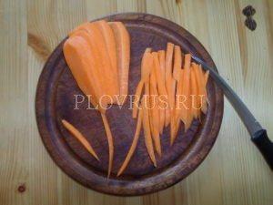 Narezanaja-dlja-plova-morkov