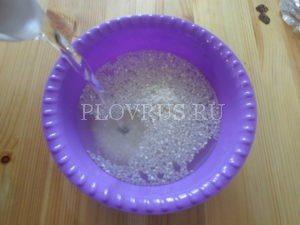 Плов со свининой в горшочке, приготовление в духовке рецепт с фото