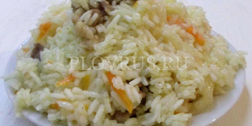 Плов из индейки на сковороде рецепт с пошагово