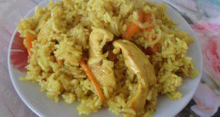 Вкусный плов из курицы приготовленный в кастрюле