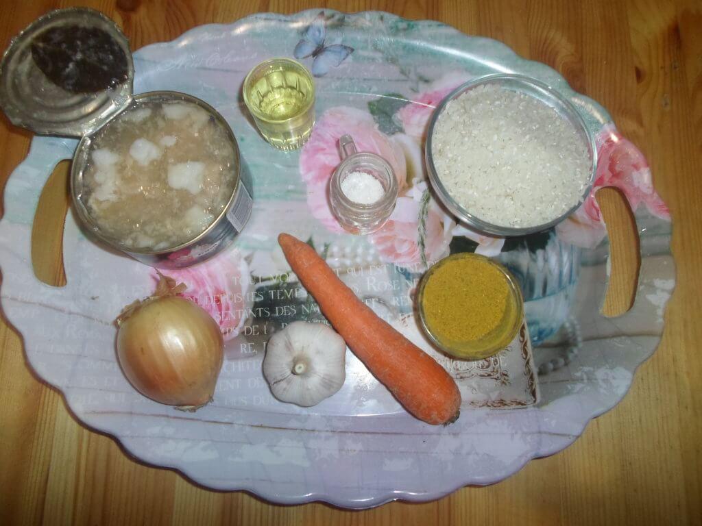 Плов с тушенкой - пошаговый рецепт с фото, как приготовить