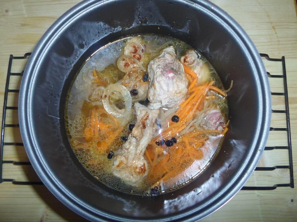 Плов из кролика-домашний рецепт с пошаговыми фото
