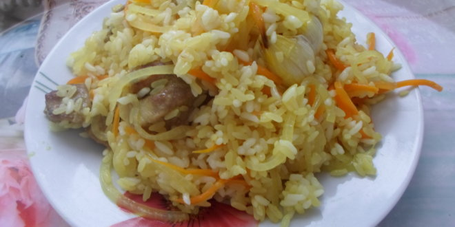 Плов из пропаренного риса рецепт пошагово