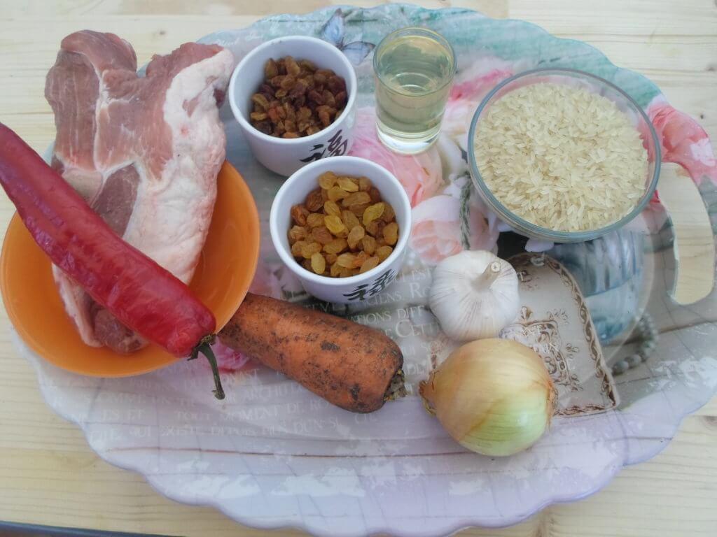 Плов в мультиварке редмонд: рецепт со свининой, курицей