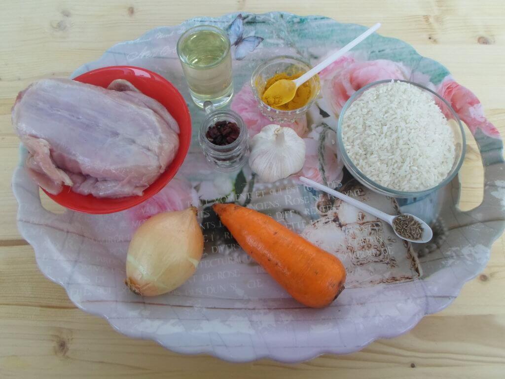 Плов из кролика в мультиварке-рецепт с пошаговыми фото