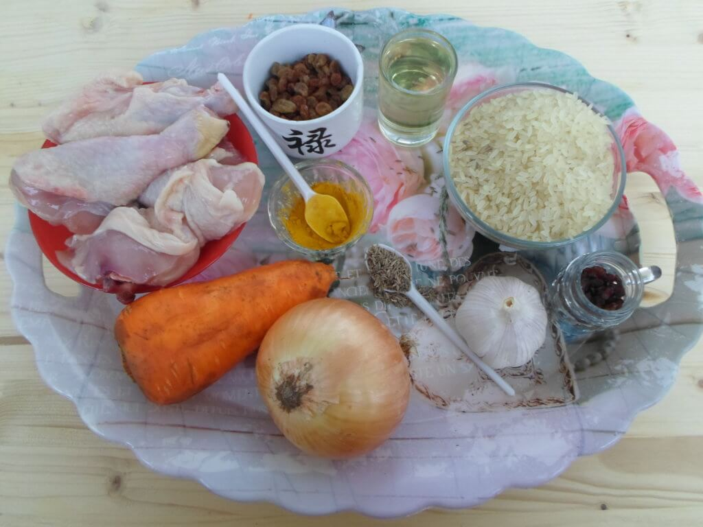Плов в мультиварке с курицей-рецепт с подробными фото