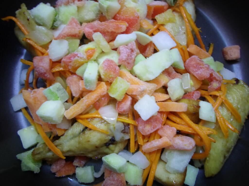 Овощной плов в мультиварке рецепт с фото