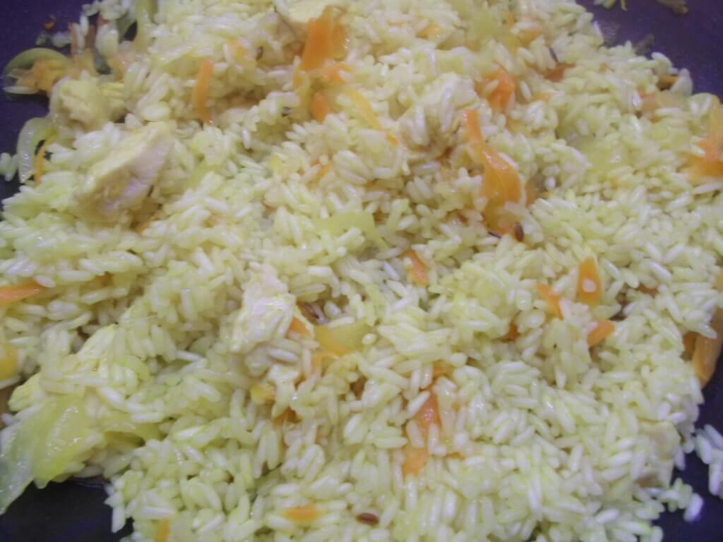 Плов в мультиварке с курицей-как правильно готовить