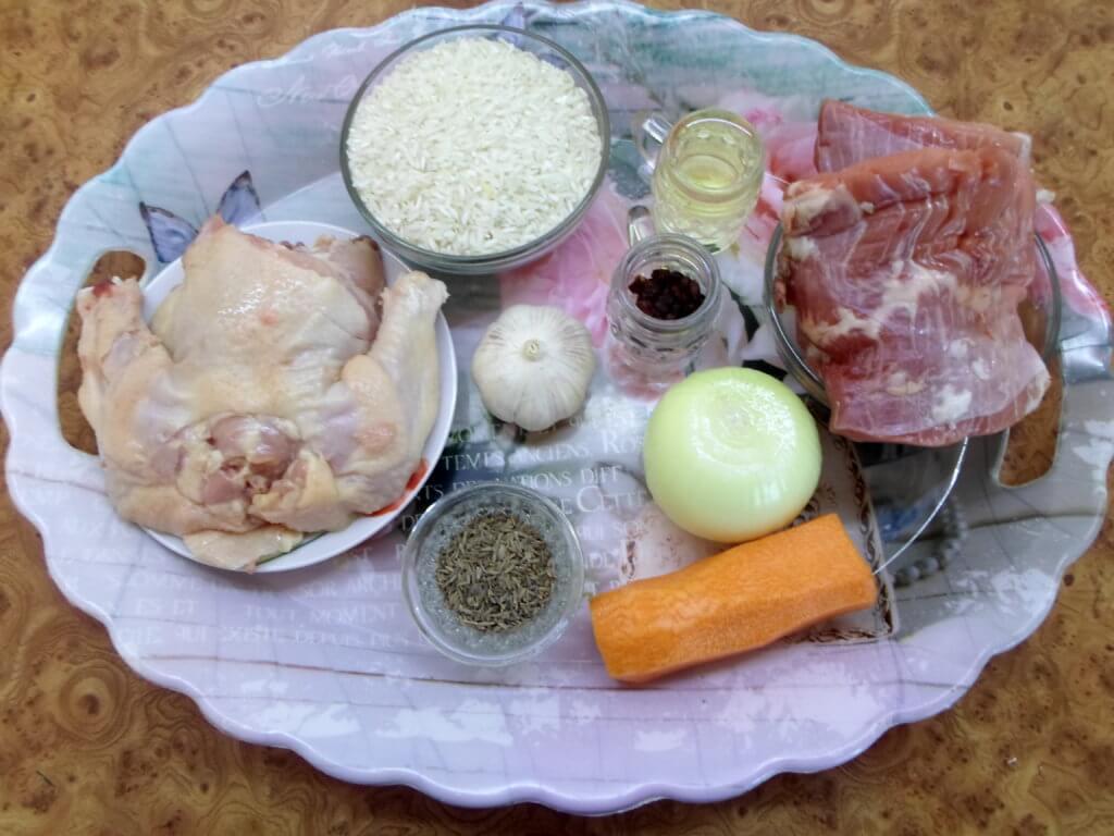 Плов в мультиварке со свининой рецепт с пошаговыми фото