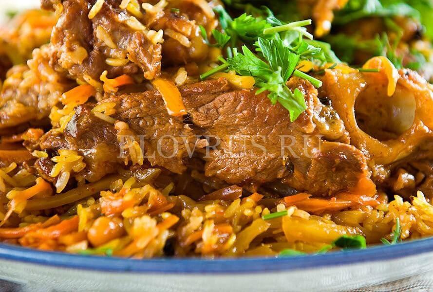 Пошаговый рецепт плова без моркови с фото и видео