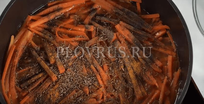 Приготовление узбекского плова: ШАГ 3