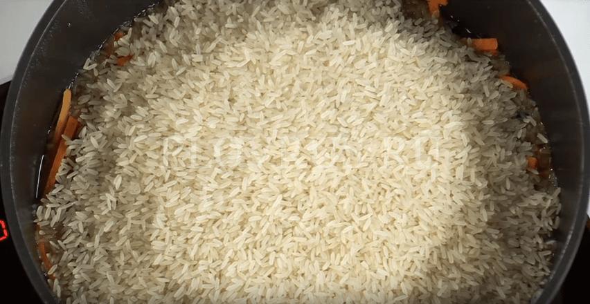 Приготовление узбекского плова: ШАГ 4