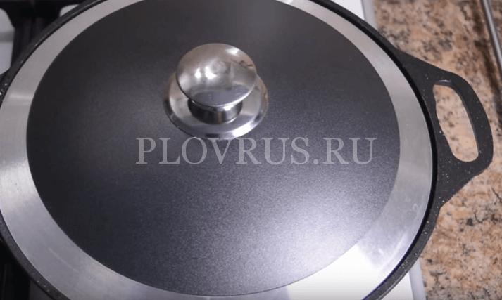 Приготовления плова с баранины: ШАГ 7