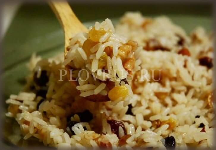 Плов из говядины с рисом длиннозерных сортов