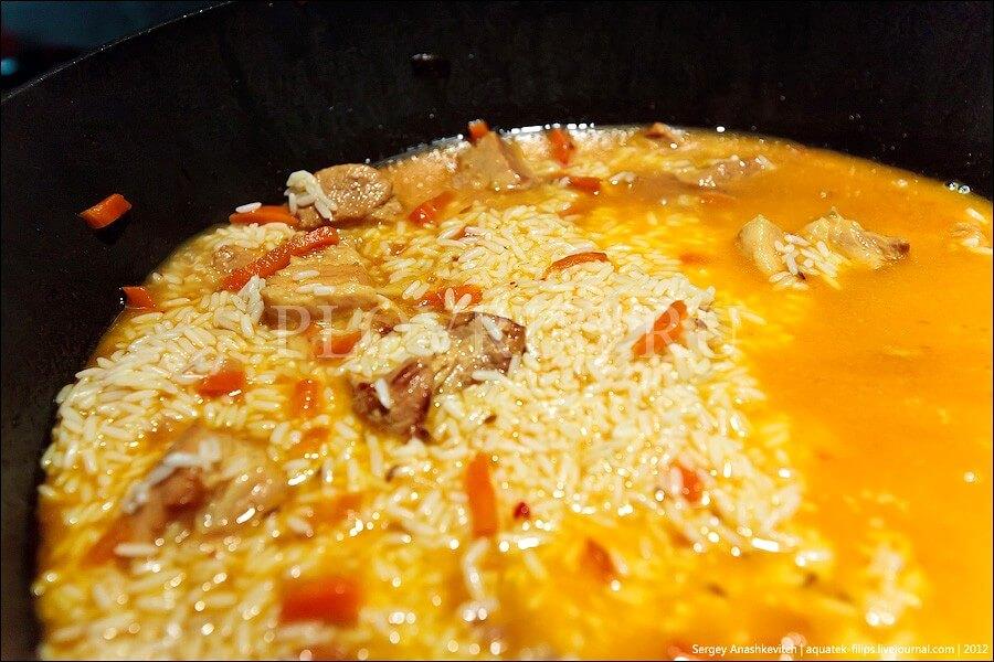 Плов по ташкентски-рецепт вкусного блюда с фото