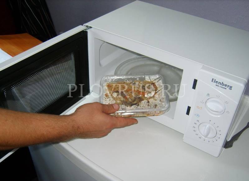 Как правильно заморозить готовый плов в морозилке